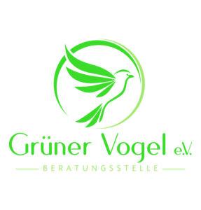 Logos des Vereins Grüner Vogel e. V.